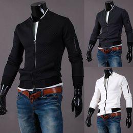 Nouvelle Arrivée Noir Veste Hommes Printemps Mode Hommes Baseball Veste Marque Grey Vestes Survêtement Livraison gratuite ? partir de fabricateur