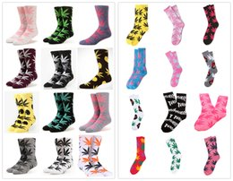 Wholesale Men Cotton Socks Price - huff plantlife Crew socks Thick Terry Socks Cheap Price for Clearance DHL free shiping