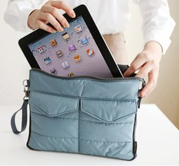 Wholesale Clutch Bags China - New Arrival Hot selling Pad tablet Organizer Bags for storage bag in bag unisex computer clutch tote bag
