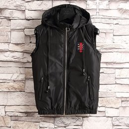 Wholesale Double Zipper Coat - Fall-2017 new Brand double face High Quality Men's Down Vest Down Jacket & Outerwear Coat thick winter sportswear #806
