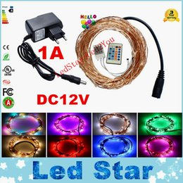 Wholesale Office Factory - 33ft 10M 100LEDs 5M 50LEDs Led Copper Wire LED String Fairy Light Home Factory Office Lamp Waterproof IP65 Christmas Garden Lamp DC 12V