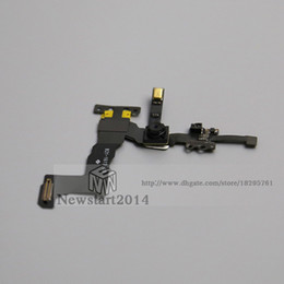 Wholesale Iphone Testing Flex - for iPhone 5s High Quality 100% Tested Well Facing Front Camera Flex Cable Replacement Part Free Shipping