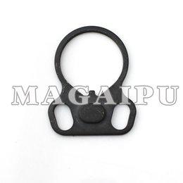 Wholesale Gun Slings - Wholesale-Sling Plate Hook Sling gun accessories Adapter GBB Mount for AR15 M4 M15 AK Free shipping