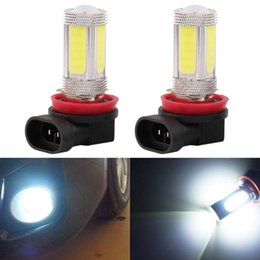 Wholesale Toyota Fog - 2pcs External Lights H11 25W CREE LED Projector Bulb Fog Driving Light DRL Error Free Led Resistors for TOYOTA Prius