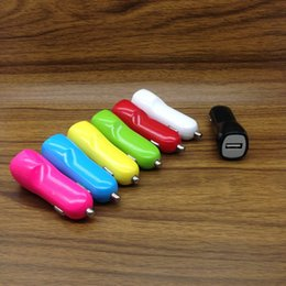 Wholesale Car Duck - Duck Mouth Single Port USB Car Charger Light Up Car Adapter For iPhone X 7 LG Samsung Xiaomi 100pcs