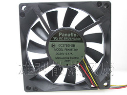 Wholesale Computers Equipment - Original for Panaflo FBK08T24H DC24V 0.17A 80 * 80 * 15MM 8cm equipment dedicated cooling fan