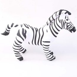 Wholesale Zebra Birthday - Wholesale-new birthday presents best, the classic giant inflatable zebra zoo horse toys indoor and outdoor cheap latex balloons big anima