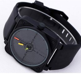 Wholesale dropship dresses - Luxury Mens Automatic Mechanical Rubber Strap Wristwatch Swiss Brand Black PVD Stainless Cheap New Men Dress Watches For Man Sport Dropship