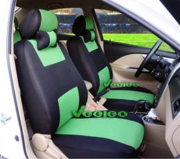 gestrickte autositzbezüge Rabatt 7 Farben Universal Sitzbezug für HYUNDAI Solaris Elantra Akzent Sonate Sonata nf Verna Avante i30 i35 + Logo + Großhandel + Kostenloser Versand