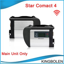 Wholesale Mb Star C4 Sd - New MB Star Compact 4 main unit with wifi SD Connect C4 For Mercedes Benz Diagnostic Tool DHL Free Shipping
