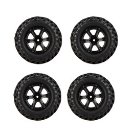 Wholesale Rc Cars Off Road Tires - 4Pcs High Performance 1 10 Climber Off-road Car Wheel Rim and Tire 210041 for Traxxas HSP Tamiya RC Car order<$18no track