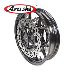 Wholesale Bmw Rr - Arashi S1000RR Front Wheel Rim with Brake Disc For BMW S 1000 RR 2009-2015 2014 2013 2012 2011 2010 Motorcycle WR675-3A