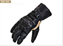 Wholesale King Gloves - Germany NERVE imported leather motorcycle gloves carbon fiber carbon fiber gloves slip drop resistance Racing Speed King 133