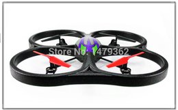 Wholesale Super Ufo Free Shipping - Wholesale-Super Big 4CH Rc Helicopter WLtoys V262 53cm Quadcopter with Camera Remote Control UFO Saucer Drone Camera Free Shipping