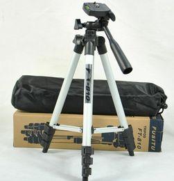 Licht tragbares kamerastativ online-WT-3110A Teleskop-Kamera-Telefon-Stativ-Multifunktions-Portable DV-Pod Vier All-Aluminium-Stativ-Outdoor-Angeln-Leuchten Compact 20PCS