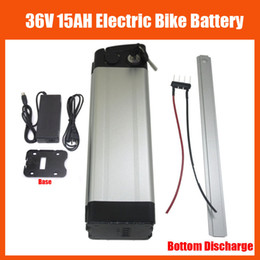 Wholesale 36v Electric Bike Battery Pack - More Discount Bottom discharge 500W 36V Scooter Electric Bike battery 36V 15AH lithium battery pack with 42V 2A charger and BMS