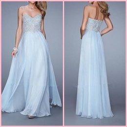 Wholesale Sexy Sophisticated Prom Dresses - 2015 Elegant and Sophisticated Sweetheart Appliqued Floor Length Chiffon Prom Dresses Sexy Evening Dress vestido de festa