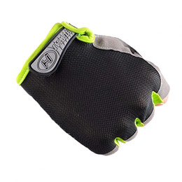 Wholesale Basketball Weights - Men Women Weight Lifting Gloves Sports Gym Body Building Training Fitness Exercise Workout Wrist Wrap Half Finger Mittens
