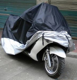 Wholesale Big Scooters - Big Size 245*105*125cm Motorcycle Covering Waterproof Dustproof Scooter Cover UV resistant Heavy Racing Bike Cover wholesale