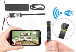 Wholesale Spy Camera Module - New Arrival Wifi IP HD 720P DIY Module Wireless Hidden Security Spy Mini Camera For Android iOS Long time working Digital Video recorder