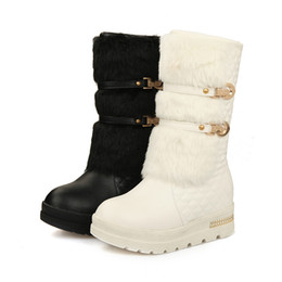 Wholesale Womens Winter Warm Shoes - Winter snow boots cotton shoes in the end flat shoes boots Women's snow boots womens warm Shoes for girls. XZ-073
