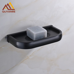 Wholesale Finished Bathrooms - Free Shipping Wholesale And Retail Wall Mounted Soap Dishes Blackened Finish Bathroom Accessories