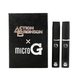 Mejores kits de vapor online-Acción Bronson cigarrillo electrónico para cera o hierba seca vapor cigarrillos kits herbario hierba seca atomizador Mejor calidad 0211130