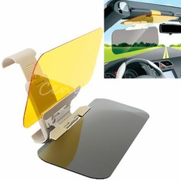 Wholesale Day Night Auto Sunshade - Car Sunshade Goggles Auto Sunglasses Shield Flip Anti-Glare Visor Auto Sunshade Prevent Dazzle Mirror for Day and Night A3*