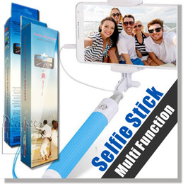 Wholesale Smartphone Android Aluminum - Selfie Stick,Selfy Stick Self-Portrait Monopod Battery Free for Apple Iphone iPhone 6 Plus, 6 ,Samsung S6 Edge, S6 , Android Smartphone.