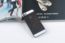 Wholesale Iphone4s Gold Case - Hot selling Luxury Hard PC Case With Glitter Powder Back Cover For iphone 5C iphone6 6plus iPhone4S iPhone5S