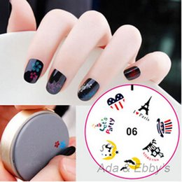Wholesale Cool Free Images - Wholesale-Free Shipping Cool Halloween Design Silicone DIY Nail Art Polish Stamping, Printing Image Template, DIY Nail Tools, 15Designs