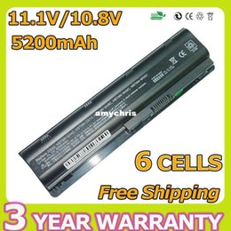 Wholesale Hp Pavilion G72 - Long time- 6cells laptop battery for HP Pavilion DM4 DV3 DV5 DV6 DV7 G32 G42 G6 G62 G56 G72 MU06 MU06XL MU09 HSTNN-UB0W HSTNN-CBOW