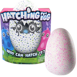 Wholesale Sounding Big - Hatch Egg with Plush Interactive Hatch Egg Creative Eggs Interactive Adorable Growing Hatch Eggs Novelty Toys