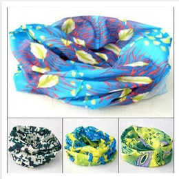 Wholesale Polka Dotted Scarves - Scarf Outdoor 150 colors Promotion Multifunctional Cycling Seamless Bandana Magic Scarfs Women Men Hot Hair band Dhgate Scarf