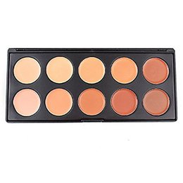 Wholesale Makeup For Wholesale Prices - Cheap Price 10 Color Face Concealer Whitening & Nutritious & Water-Resistant Palette Makeup for All Skin Types BY DHL