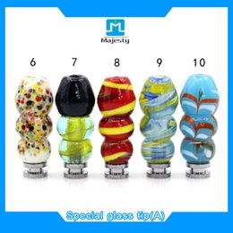 Wholesale Drip Drop - Drop shipping 2016 newest ecig glass drip tips 510,featured special drip tip fit all atomizers wide bore drip tips