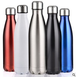 Wholesale Hand Testing - Factory Direct Insulation Mug 304 Stainless Steel Insulation Cold Water Bottle Coke Bottle Sports Bottle Outdoor