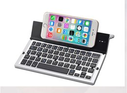 Wholesale Apple Macbook Pro Keyboard - Wholesale New Arrival Mini Keyboard 3.0 Folding Foldable Bluetooth Keyboards for Apple iPhone iPad Pro MacBook IOS Android Phone Tablet PC