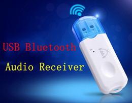 беспроводной приемник usb Скидка Бесплатная доставка новое поступление беспроводной USB Bluetooth аудио музыкальный приемник адаптер, 50 шт. / Лот