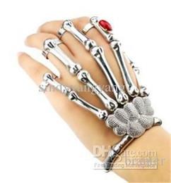 Wholesale Eagle Talons Bracelet - 1pc Fashion Vintage Alloy woman Big Eagle talons Bangles Skull Heads Bangle rings Bracelet Jewelry