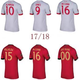 Wholesale Atlanta Wholesalers - 2017 2018 Thai quality MLS Atlanta United jersey home ALMIRON JONES MARTINEZ soccer jersey
