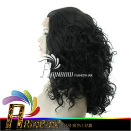 Wholesale Cosplay Virgin - Free shipping wigs for black women & glueless full lace wigs brazilian virgin hair weave curly wig for african american