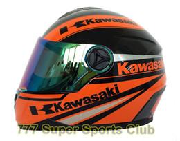 Wholesale dot approved - Kawasaki Brand Motorcycle Full Face Helmet Men women Motorbike Racing Helmets Capacete Casco DOT Approved