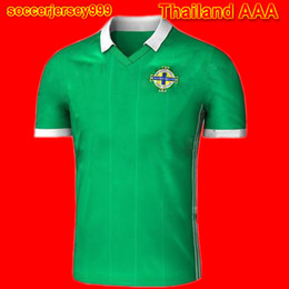 Wholesale North Homes - Thailand Northern Ireland soccer jersey 2018 world cup North home green Tuaisceart Eireann McNAIR K.LAFFERTY DAVIS football shirt jerseys