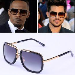 Wholesale Dita Glasses - WINLA Fashion Luxury Sunglasses 2015 Newest Brand Designer Metal Square Sun glasses Men Women DITA Sunglasses 60mm Gafas de sol mujer