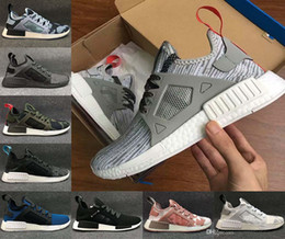 Wholesale Pink Camo For Sale - BEST NMD XR1 Glitch Black White Blue Camo Olive Adult And mans women Running Shoes sports sneaker cheap online for sale