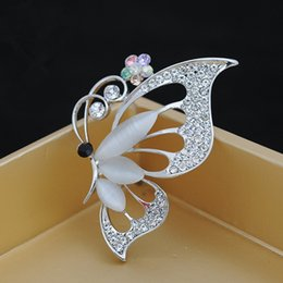 Wholesale Christmas Brooch Mixed - 2015 Vintage Butterfly Brooches Rhinestone men and women Accessories Anchor christmas pins mixed Decoration New Arrival Alloy Corsage