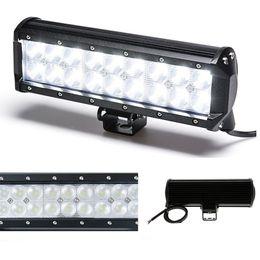 "Wholesale Cree Work Light 18 - 9"" 54W CREE LED Work Light Bar SUV ATV 4WD Off-road 4x4 Boat SUV UTE Off-road SPOT FLOOD COMBO Beam 12V 24V 4590lm 18*3W LED Bar Lamp"