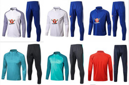Wholesale Men S Training Pants - 17 18 Chelsea Survetement HAZARD,DIEGO COSTA,OSCAR training suit 17-18 tracksuits tight pants 2017 2018 sportswear 2016 chelsea tracksuit