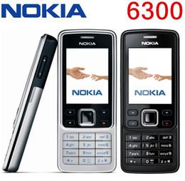 Telefono ricondizionato originale Nokia 6300 Telefono cellulare sbloccato TFT, 16M colori Tastiera russa Tastiera inglese Telefono più economico da
